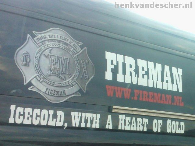 Fireman :: Ice Cold, with a heart of gold