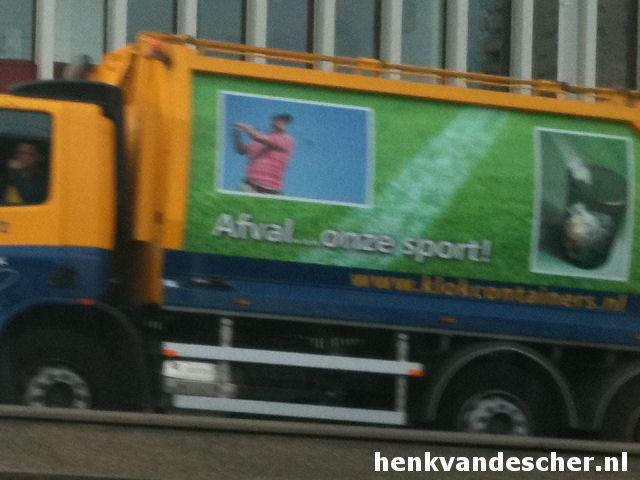 Klok containers :: Afval.............onze sport