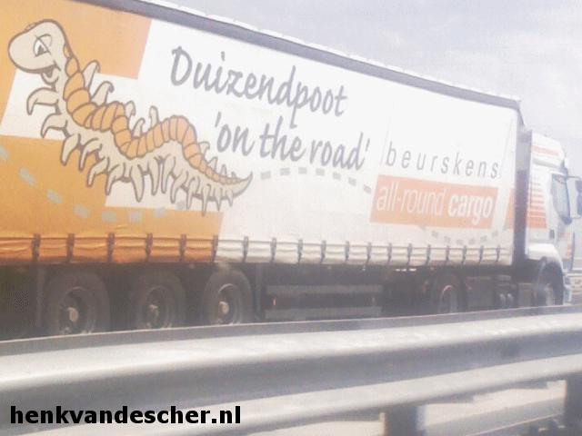 Beurskens :: Duizendpoot on the Road
