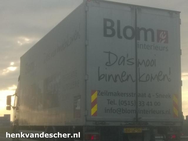 Blom Interieurs :: Das mooi binnenkomen :: Henk van de Scher Advertising