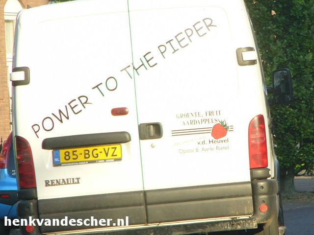 Van de heuvel AGF :: Power to the Pieper