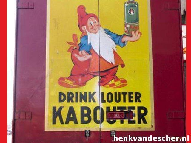 Drink Louter Kabouter Henk Van De Scher Advertising