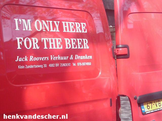 Jack Roovers :: I'm only here for the beer