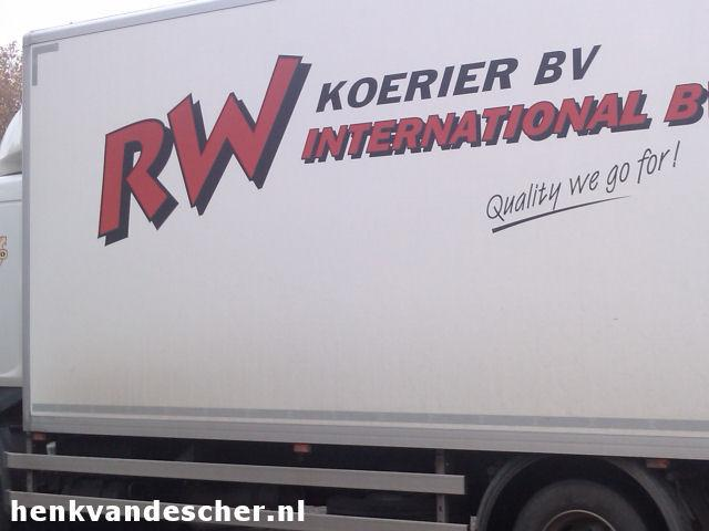 RW Koeriers :: Quality we go for!